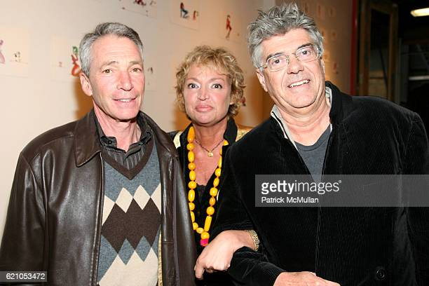 Fred Helter AnneLaure Lyon and John Head attend JANE GANG 'Cash Only' jewelry launch hosted by Josh Briggs at May 20 on May 20 2008
