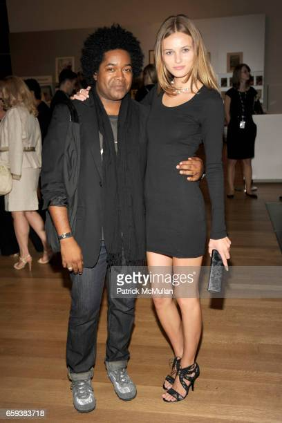 Fred Howard and Edita Vilkeviciute attend LINDA EVANGELISTA NOTIFY Party to Celebrate RON ARAD at MoMA at The Modern Museum of Art on September 15...