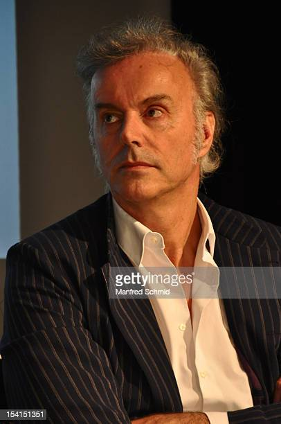 Fred Jaklitsch attends a press conference to announce the November 2012 Die Seer Rainhard Fendrich And EAV tour 'Best Of Austria Life' on May 8 2012...