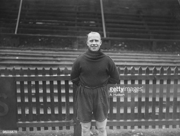 Fred Kean captain of Luton Town FC 10th January 1934