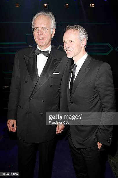 Fred Kogel and Harald Schmidt attend the Mira Award 2014 on January 23, 2014 in Berlin, Germany.