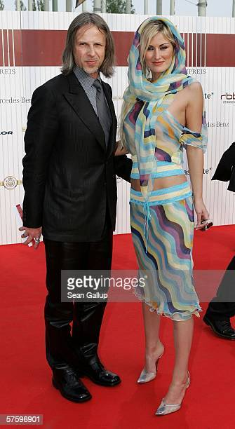 Fred Kogel and Melanie Tara arrive at the German Film Awards at the Palais am Funkturm May 12 2006 in Berlin Germany