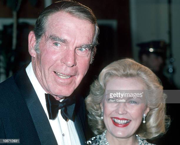 Fred MacMurray and June Haver during The Adam Eve Awards at Beverly Wilshire Hotel in Beverly Hills California United States