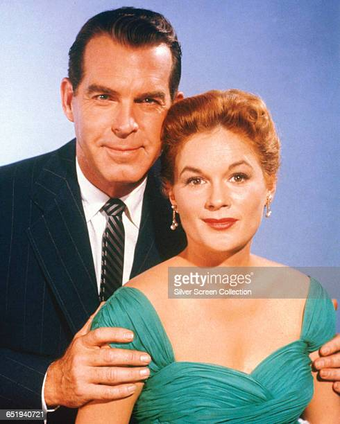 Fred MacMurray as Wilson Daniels and Jean Hagen as Freeda Daniels in 'The Shaggy Dog' 1959