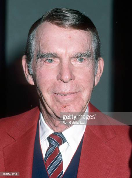 Fred MacMurray during 20th Annual 'Women of the World' Awards Luncheon at Century Plaza Hotel in Los Angeles California United States