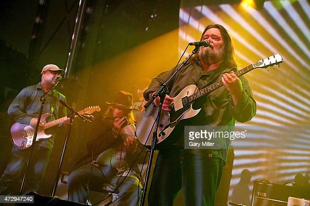 Fred Mitchum Tommy Hall and Roky Erickson of the 13th Floor Elevators perform as a group for the first time in 45 years during the Levitation...