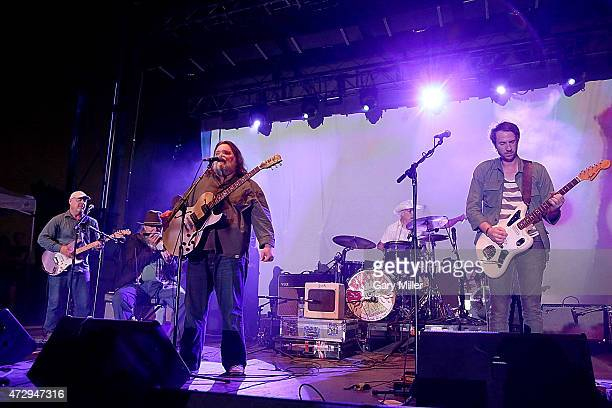 Fred Mitchum Tommy Hall Roky Erickson John Ike Walton and Eli Southard of the 13th Floor Elevators perform as a group for the first time in 45 years...