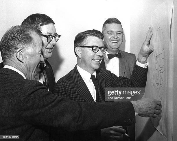 Fred Neher, Dik Browne, Mort Walker, Bob Bowie;