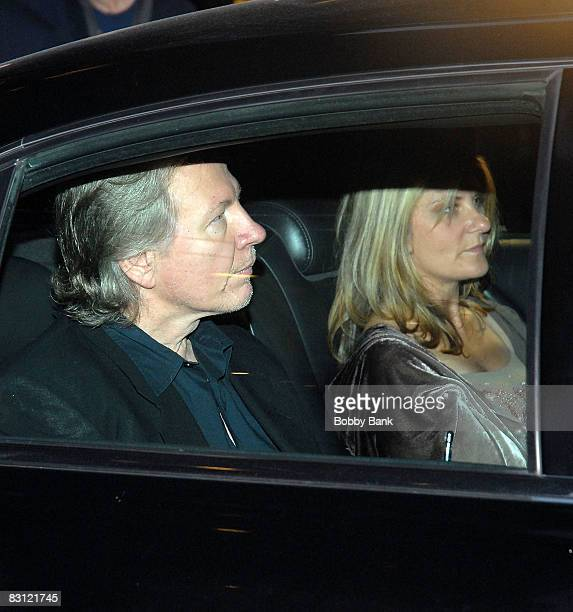 Fred Norris and Allison Norris attend the wedding of Howard Stern and Beth Ostrosky at Le Cirque on October 3 2008 in New York City