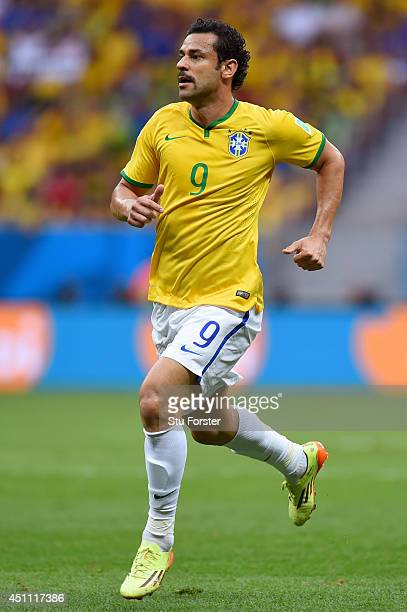Fred of Brazil runs on during the 2014 FIFA World Cup Brazil Group A match between Cameroon and Brazil at Estadio Nacional on June 23 2014 in...
