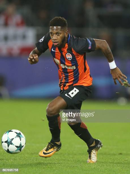 Fred of FC Shakhtar Donetsk during the UEFA Champions League group F match between Feyenoord Rotterdam and Shakhtar Donetsk at the Kuip on October 17...