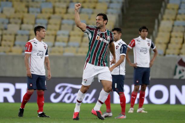 BRA: Fluminense v Cerro Porteño - Copa CONMEBOL Libertadores 2021