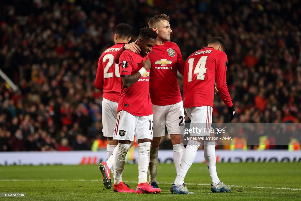 Manchester United v Club Brugge - UEFA Europa League Round of 32: Second Leg : News Photo