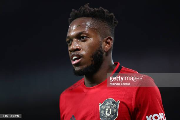 Fred of Manchester United during the Premier League match between Manchester United and Tottenham Hotspur at Old Trafford on December 04, 2019 in...