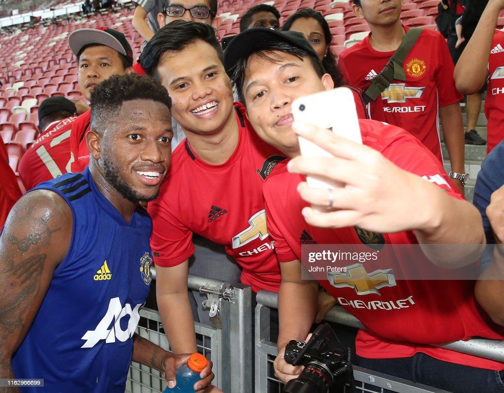 Manchester United Pre-Season Tour - Day 12 : News Photo