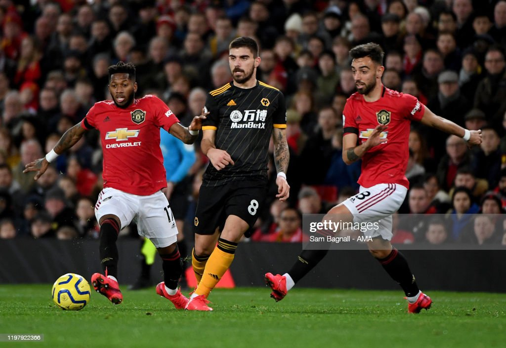 Manchester United v Wolverhampton Wanderers - Premier League : News Photo
