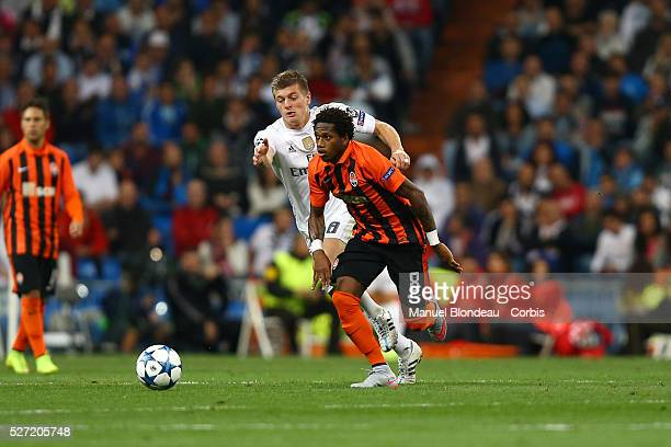 Fred of Shakhtar Donetsk during the UEFA Champions League Group A football match between Real Madrid CF and FC Shakhtar Donetsk on September 15 2015...