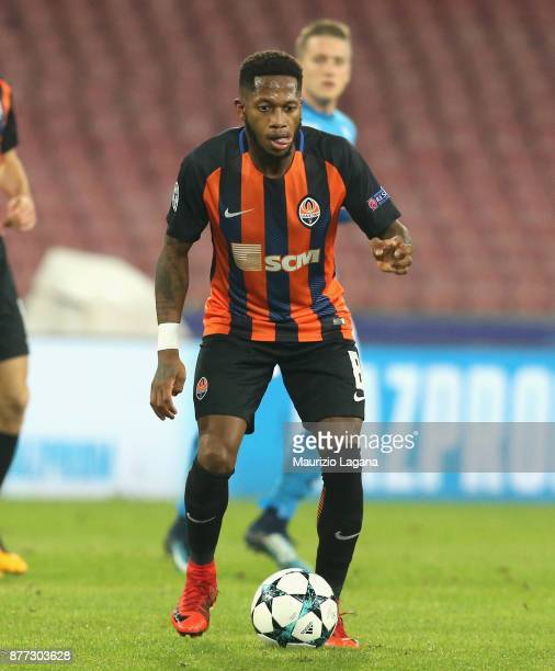 Fred of Shakhtar Donetsk during the UEFA Champions League group F match between SSC Napoli and Shakhtar Donetsk at Stadio San Paolo on November 21...