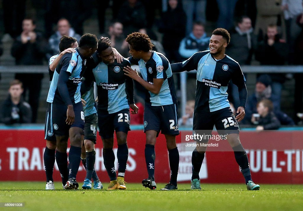 Wycombe Wanderers v Hartlepool United - Sky Bet League Two : News Photo