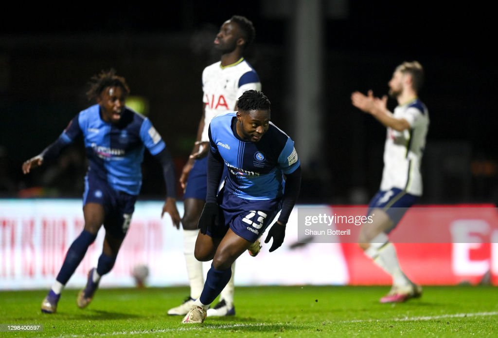 Wycombe Wanderers v Tottenham Hotspur: The Emirates FA Cup Fourth Round : News Photo