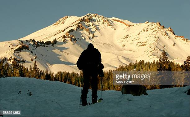––Fred Pasner slowly heads up Mount Shasta on his cross country skis Eco tourism is big business in Northern California Redding has led the way with...