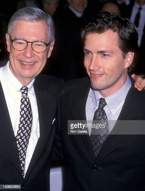 Fred Rogers and Andrew Shue at the 52nd Annual Christopher Awards TimeLife Building New York City
