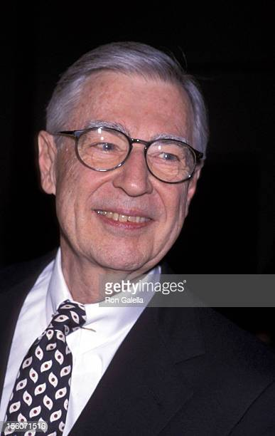 Fred Rogers during 52nd Annual Christopher Awards February 22 2001 at TimeLife Building in New York City New York United States