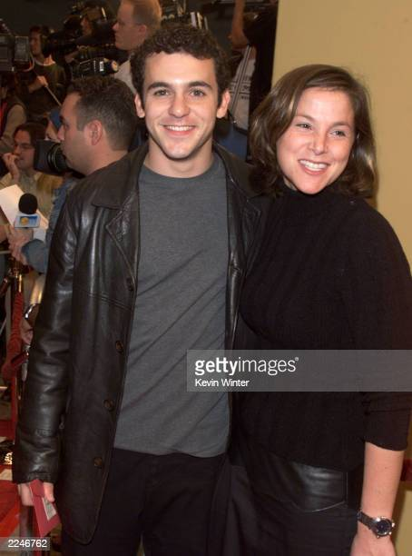 Fred Savage and Jennifer Stone at the premiere of 'Bedazzled' at the Village Theater in Los Angeles Ca 10/17/00 Photo By Kevin Winter/Getty Images