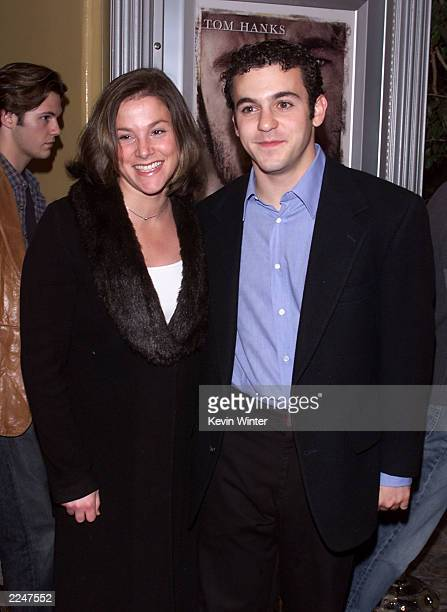 Fred Savage and Jennifer Stone at the premiere of 'Castaway' at the Village Theater in Los Angeles Ca 12/7/00