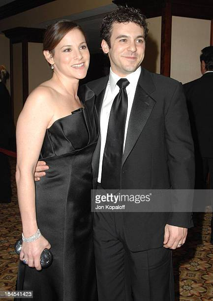 Fred Savage and wife Jennifer Stone during 59th Annual Directors Guild of America Awards Arrivals at Hyatt Regency Century Plaza in Los Angeles...