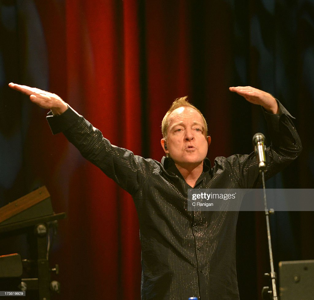Fred Schneider of The B-52's performs at The Fillmore on July 15, 2013 in San Francisco, California.