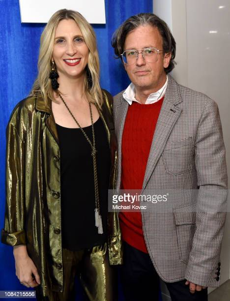 Fred Segal CEO Allison Samek and Fred Segal President John Frierson attend 'A Legendary Shopping Night' hosted by Fred Segal Sunset in the Ralph...