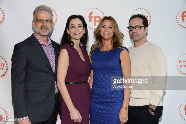 Fred Silberberg Allison Hope Weiner Rachel Hope and Jason Patric attend Fertility Planit LA 2014 at UCLA Carnesale Commons on April 4 2014 in Los...