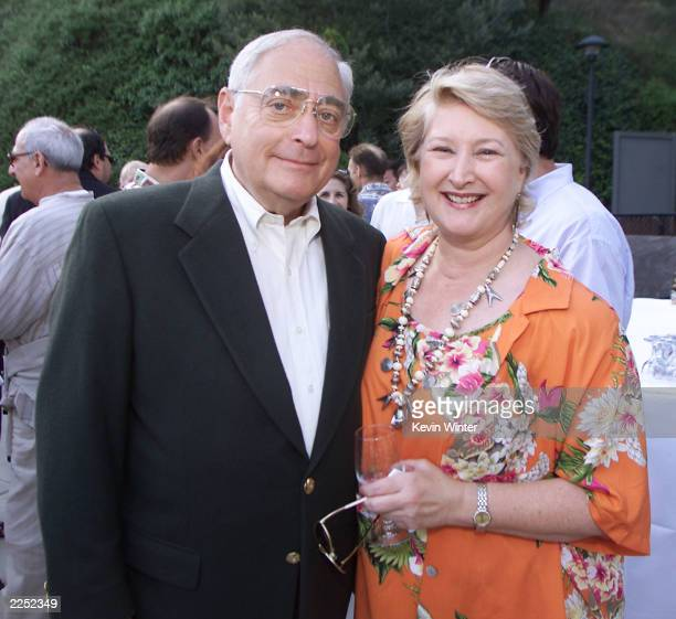 Fred Silverman and Crown Media Pres and CEO Margaret Loesch at Hallmark Channel's preconcert dinner for the Academy of Television Arts and Science's...