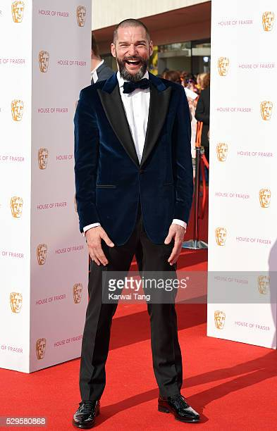 Fred Sirieix arrives for the House Of Fraser British Academy Television Awards 2016 at the Royal Festival Hall on May 8, 2016 in London, England.