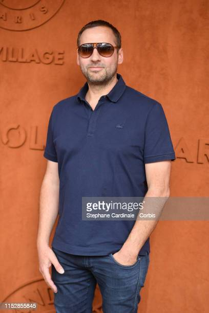 Fred Testot attends the 2019 French Tennis Open Day Six at Roland Garros on May 31 2019 in Paris France