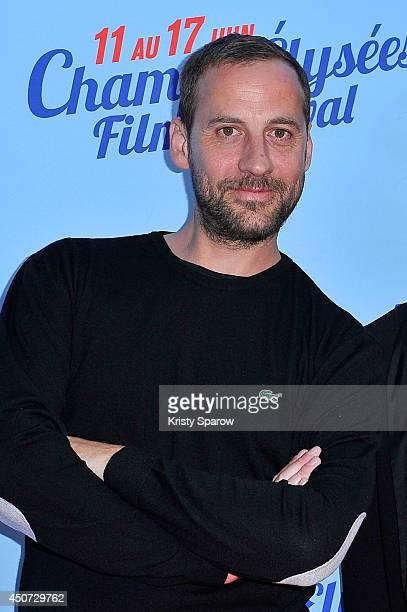 Fred Testot attends the Bon Retablissement! Paris Premiere during Day 6 of the Champs Elysees Film Festival on June 16, 2014 in Paris, France.