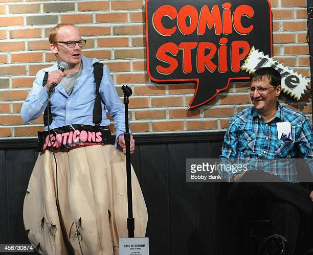 Fred The Elephant Boy Schreiber and Medicated Pete attends the roast of Fred the Elephant Boy at Comic Strip Live on November 9 2014 in New York City