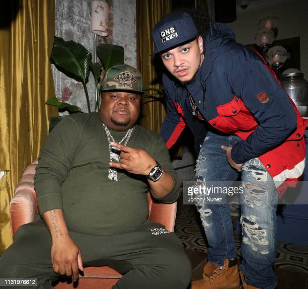 Fred The Godson and Papichy attend Bobbi Storm In Concert at Soho House on March 21, 2019 in New York City.