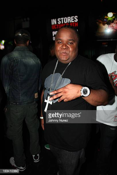 Fred The Godson attends Machine Gun Kelly's Lace Up Album Listening Party at Slate on October 4 2012 in New York City