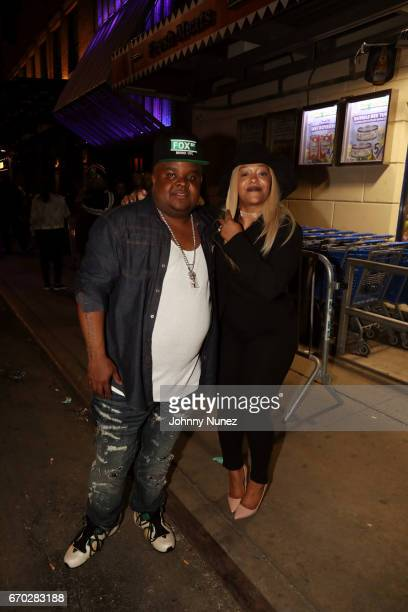 Fred The Godson attends Pretty Lou's Birthday Charity Celebration Hosted By Fat Joe at Highline on April 18, 2017 in New York City.