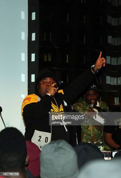 Fred The Godson performs at S.O.B.'s on February 26, 2013 in New York City.