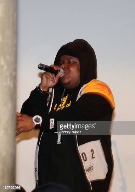 Fred The Godson performs at SOB's on February 26 2013 in New York City