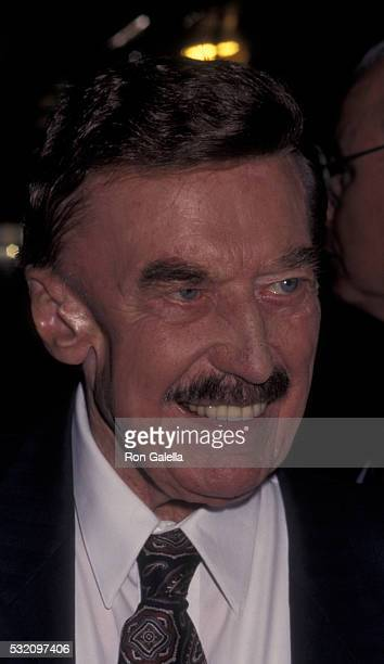 Fred Trump attends 50th Birthday Party for Donald Trump on June 13 1996 at Trump Tower in New York City