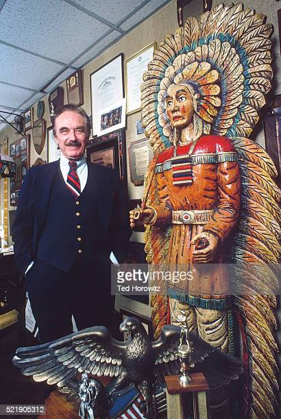 Fred Trump, father of Donald Trump, 1980.