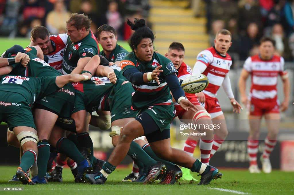 Leicester Tigers v Gloucester Rugby - Anglo-Welsh Cup
