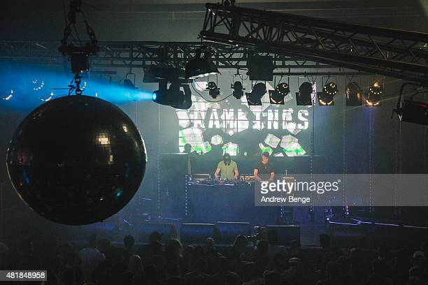 Fred V Grafix performs on stage at the O2 Academy at Tramlines Festival on July 24 2015 in Sheffield United Kingdom