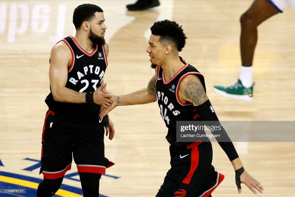 2019 NBA Finals - Game Three : News Photo