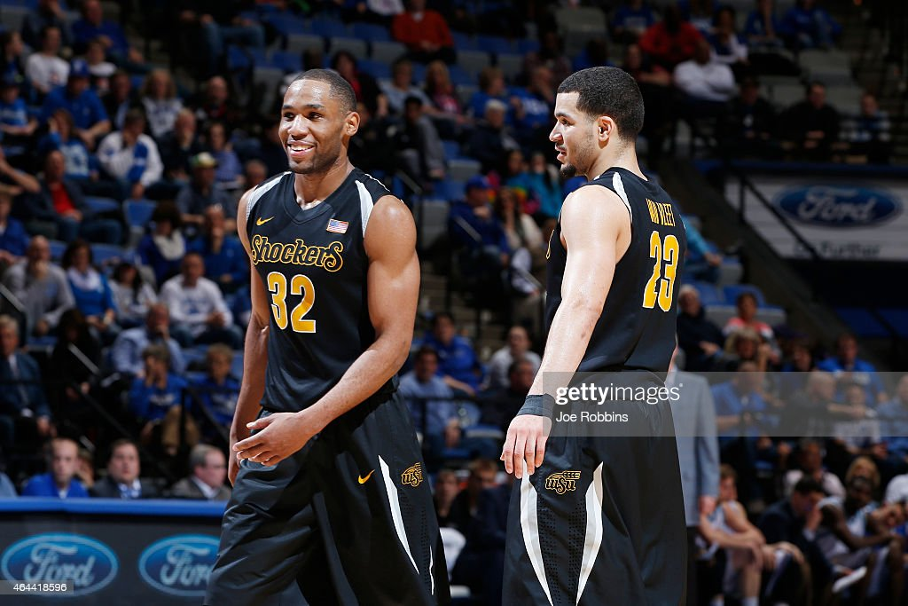 Wichita State v Indiana State : News Photo