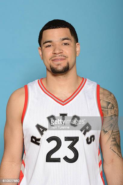 Fred VanVleet of the Toronto Raptors poses for a head shot during the 20162017 Media Day on September 26 2016 at the BioSteel Centre in Toronto...